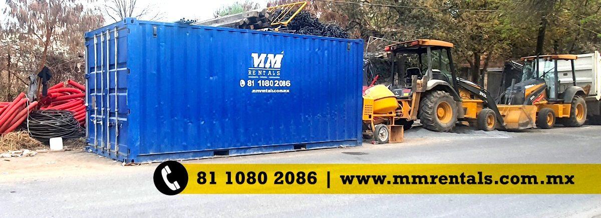 mm rentals monterrey contenedores